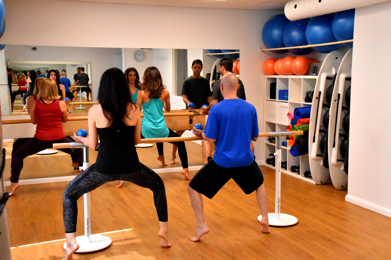 entrainement barre - Pilates Bois Franc - Ville Saint-Laurent